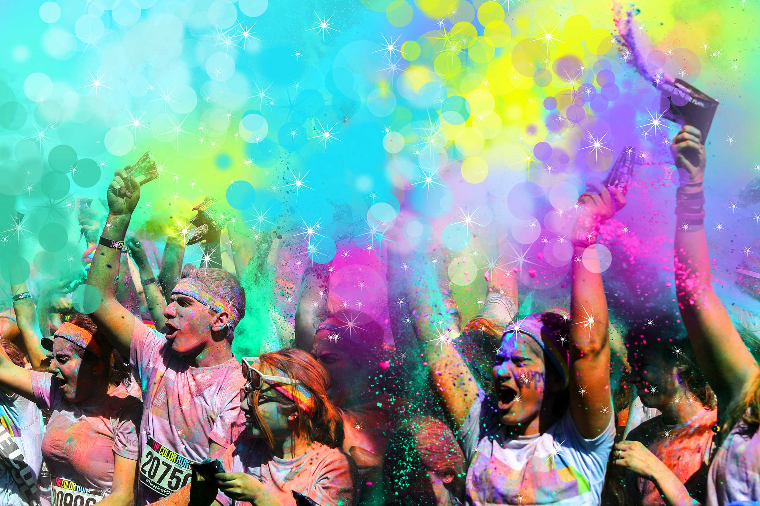 Color run coupons 2018 hershey