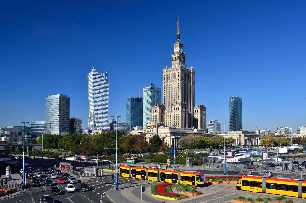 Warszawa centrum, fot.Zbigniew Panów, pzstudio.pl