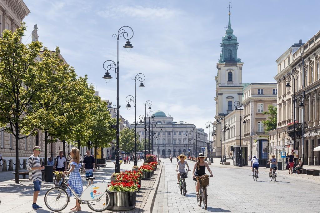 Krakowskie Przedmieście, fot. m.st. Warszawa
