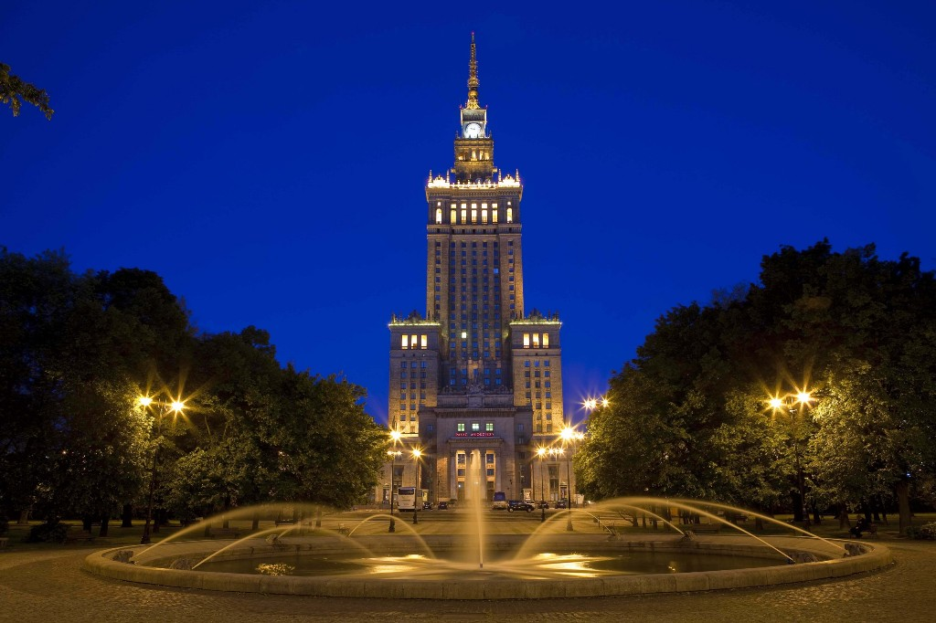 Palace of Culture and Science, fot. Piotr Wierzbowski