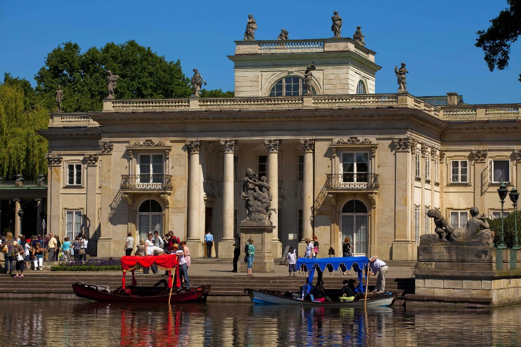 Łazienki Królewskie, Pałac naWyspie, fot.Piotr Wierzbowski