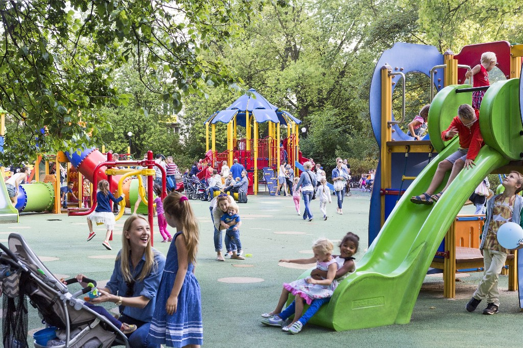 Playground on Wilson Square, fot. m.st. Warszawa