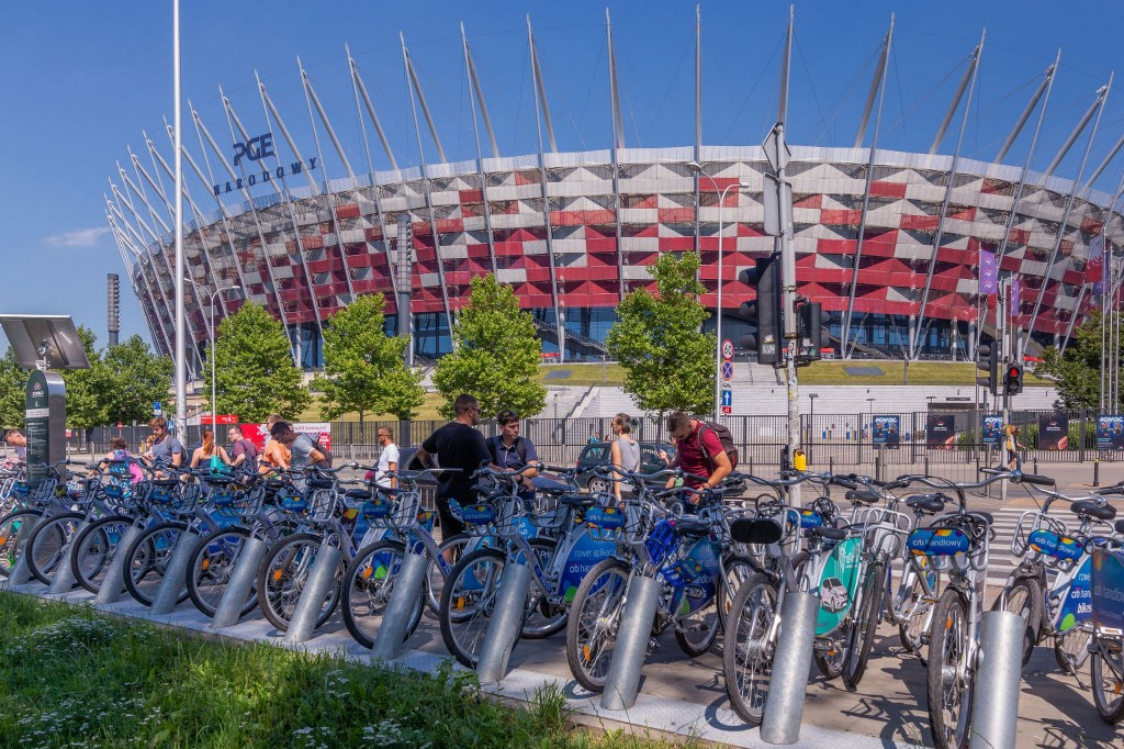 Public bikes in Warsaw - Official Tourist Website of Warsaw