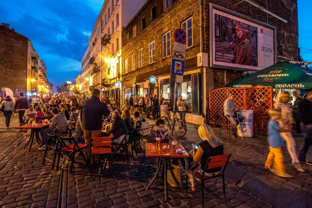 Ulica Ząbkowska, fot.Warszawska Organizaca Turystyczna