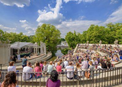 Łazienki Królewskie, Amfiteatr, fot. m.st Warszawa