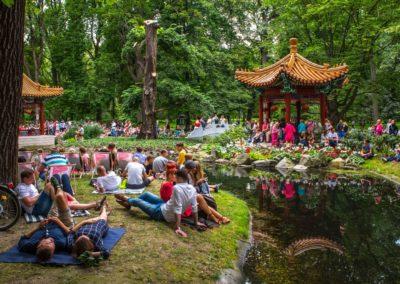 Łazienki Królewskie, Chinese Garden, fot. m.st. Warszawa