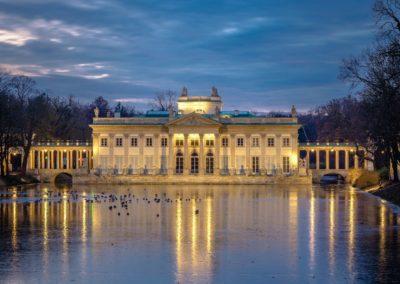 Łazienki Królewskie, Palace on the Water, fot. Warszawska Organizacja Turystyczna
