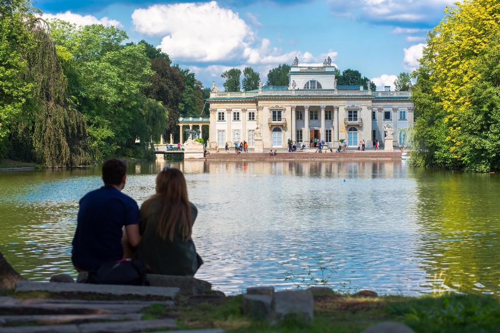 Łazienki Królewskie, Palace on the Water, fot. m.st. Warszawy
