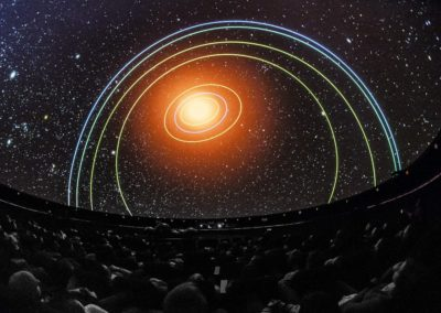Heavens of Copernicus Planetarium, fot. archiwum CNK