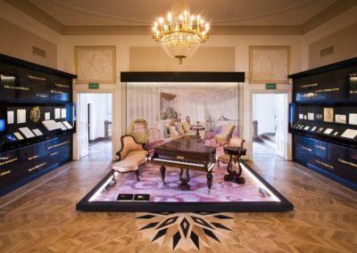 Muzeum Fryderyka Chopina, Salon, Fortepian Pleyela, fot. Marcin Czechowicz_NIFC