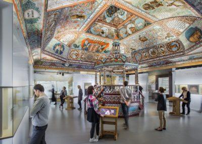 Muzeum Historii Żydów Polskich Polin, wystawa stała, synagoga, fot. M. Starowieyska_MHŻP Polin