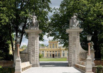 Muzeum Pałacu Króla Jana III w Wilanowie, Brama Główna, fot. Wojciech Holnicki, Muzeum Pałac w Wilanowie