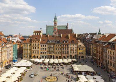 Old Town Market Square, fot. Filip Kwiatkowski