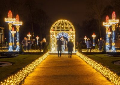 Royal Garden of Lights at Wilanów, fot. Warszawska Organizacja Turystyczna