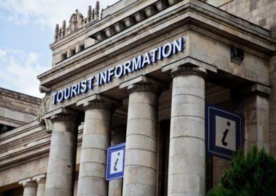 Warszawska Informacja Turystyczna w PKiN, fot. Daria Pawęda