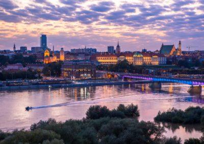 Widok na Stare Miasto, fot. m.st. Warszawa