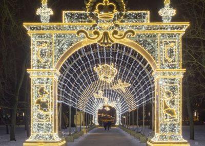 Wilanów, Ogród Światła, fot. Marcin Mastykarz_Muzeum Pałacu Króla Jana III w Wilanowie