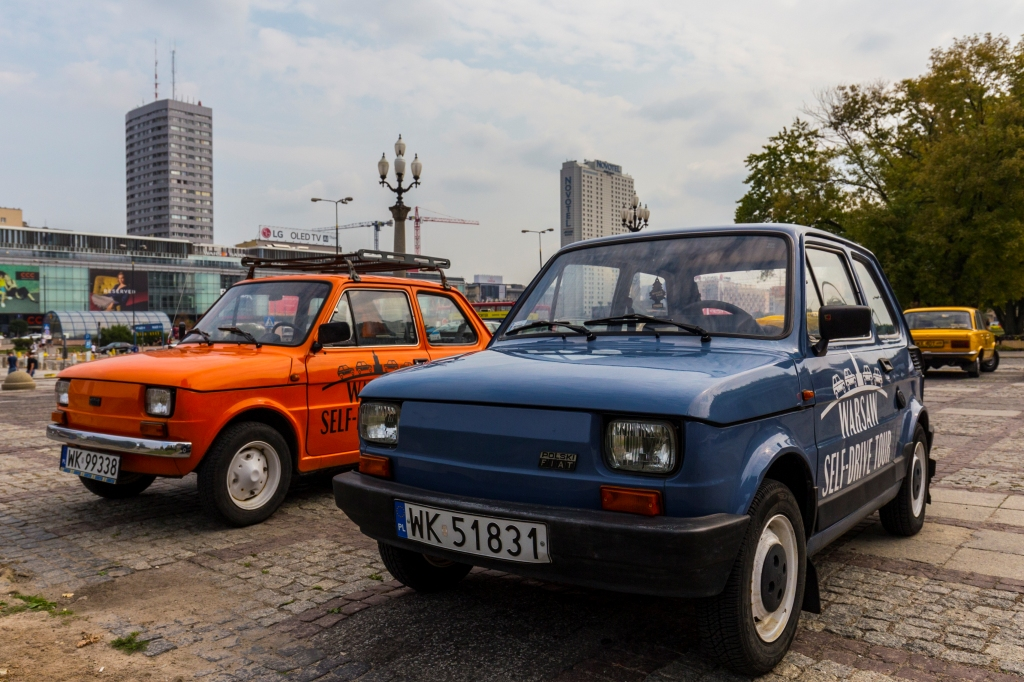Warsaw Self Drive Tour, fot. Filip Kwiatkowski