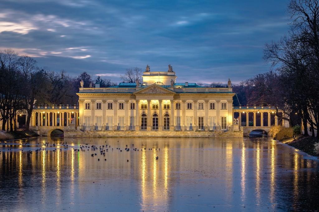 Łazienki Królewskie, Pałac na Wyspie, fot. Warszawska Organizacja Turystyczna