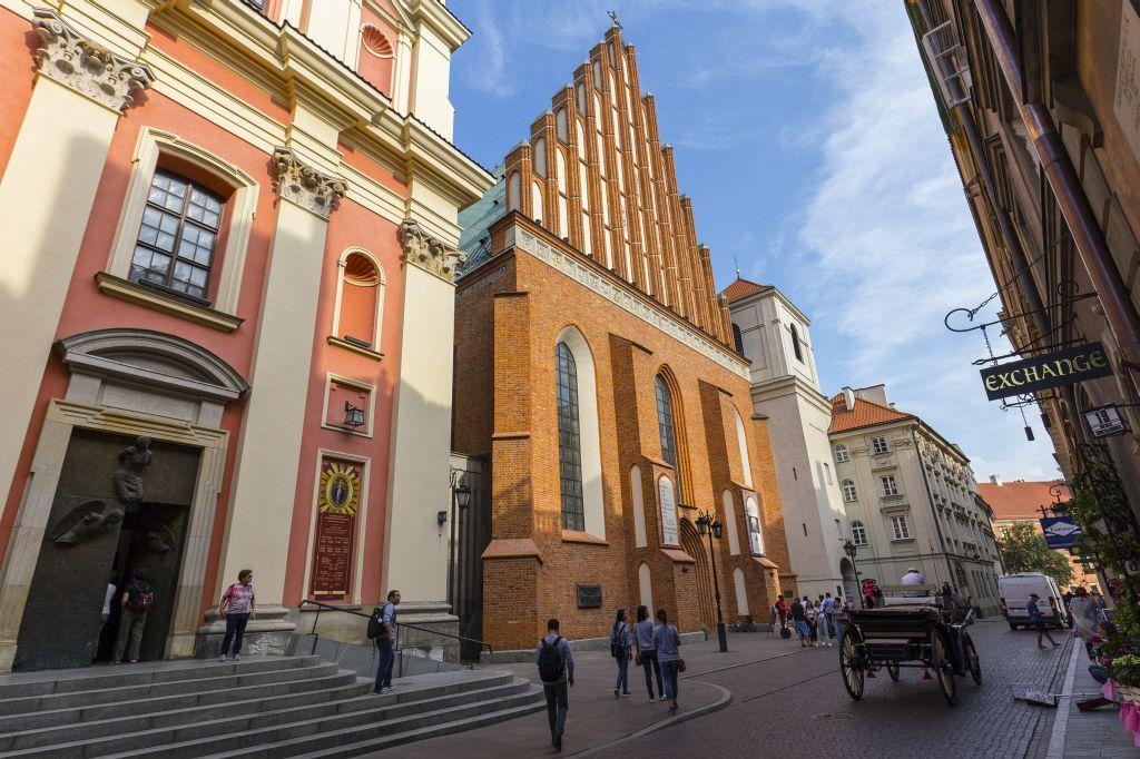 Bazylika Archikatedralna wWarszawie p.w. Męczeństwa św.Jana Chrzciciela, fot.Filip Kwiatkowski