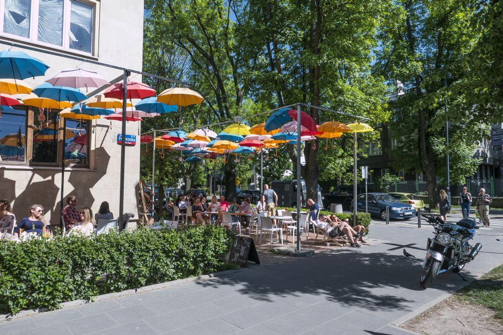 Saska Kępa, ulica Francuska, fot. m.st. Warszawa