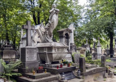 Cmentarz Powązkowski, fot. Tomasz Nowak
