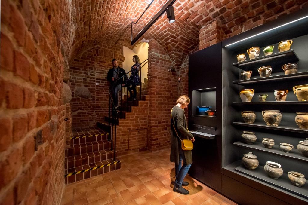Piwnice w Muzeum Warszawy - fot. m. st. Warszawa