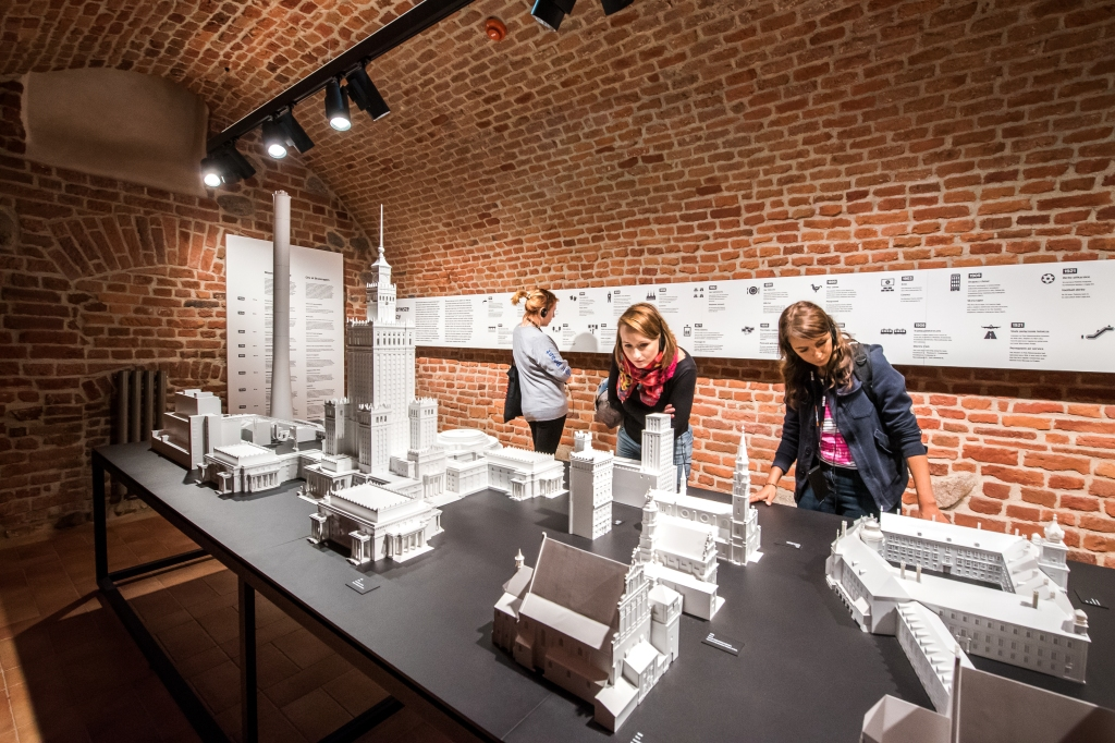 Piwnice Muzeum Warszawy, fot.m.st. Warszawa