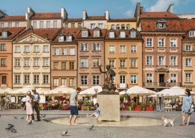 Pomnik Syrenki na Rynku Starego Miasta, fot. m.st. Warszawa