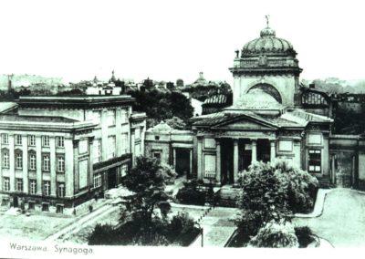 Wielka Synagoga, fot. Żydowski Instytut Historyczny Im. E. Ringelbluma