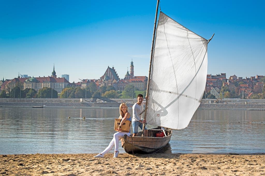Plaża nad Wisłą, fot. m.st. Warszawa