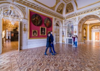 Łazienki Królewskie, Pałac na Wyspie, fot. m.st. Warszawa