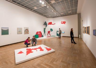 """Wystawa """"Co po Cybisie?"""", 2018, Zachęta Narodowa Galeria Sztuki, fot. m.st. Warszawa"""