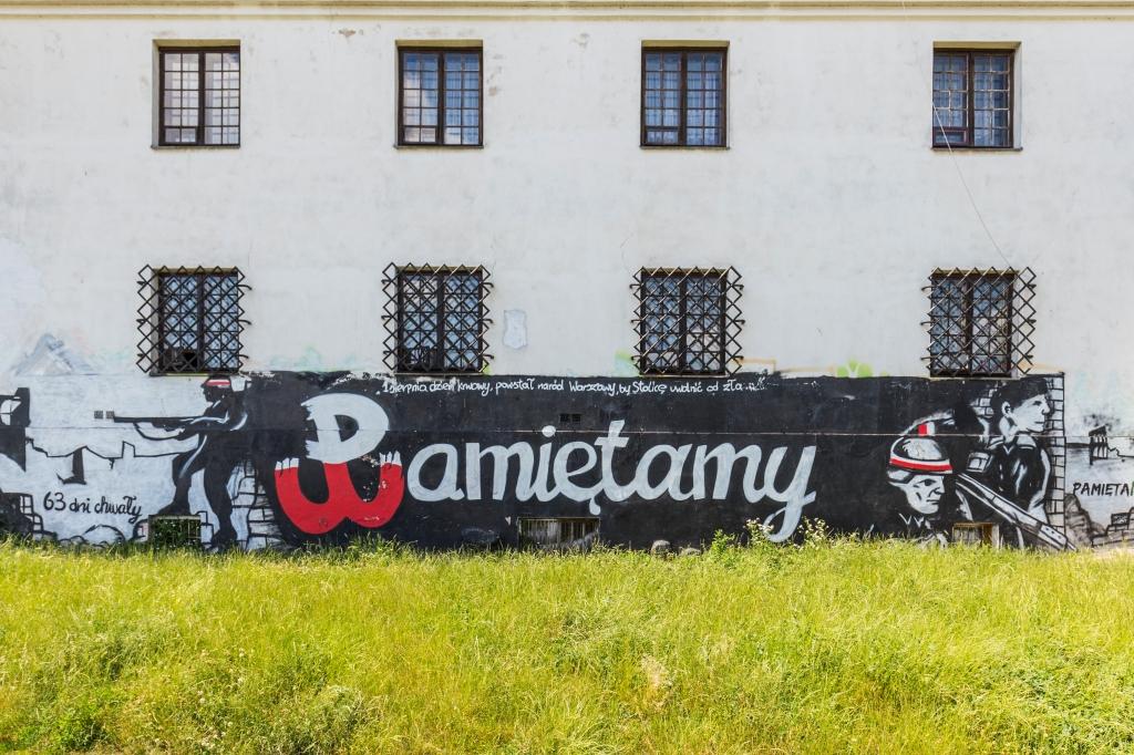 Mural Pamiętamy, fot. Filip Kwiatkowski