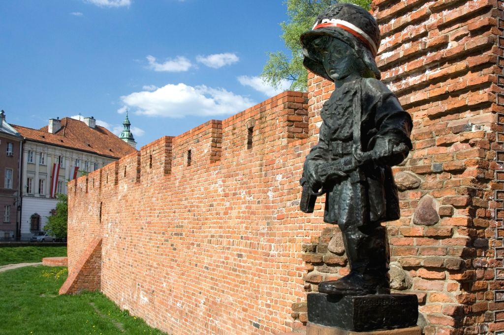 Pomnik Małego Powstańca, fot. Wanda Hansen