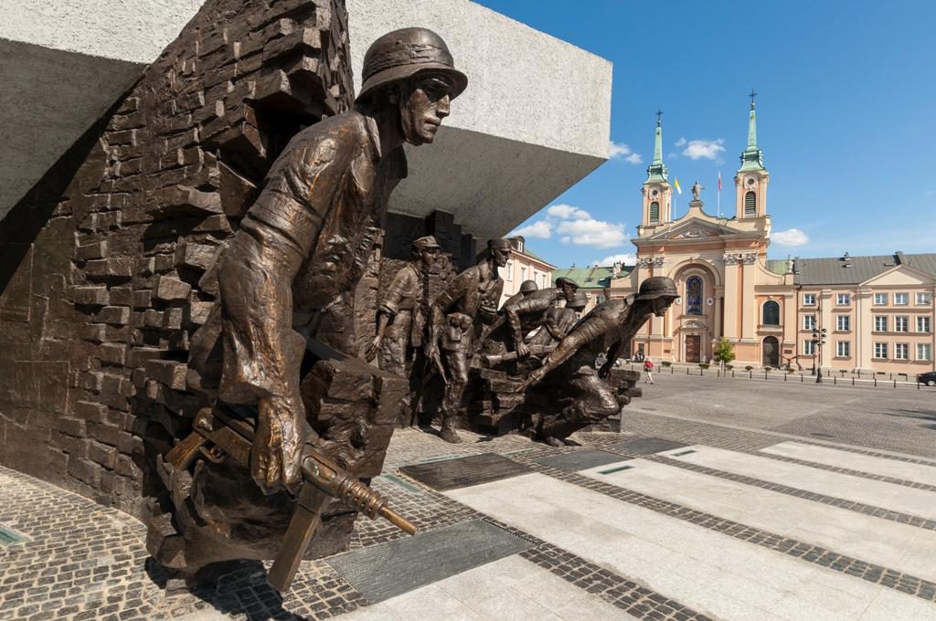 Pomnik Powstania Warszawskiego, fot. Tomasz Nowak