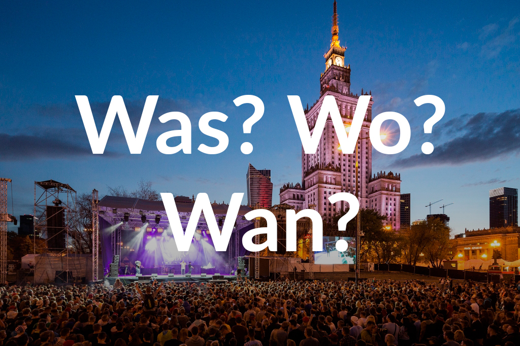 Koncert przed PKiN, fot. m.st. Warszawa