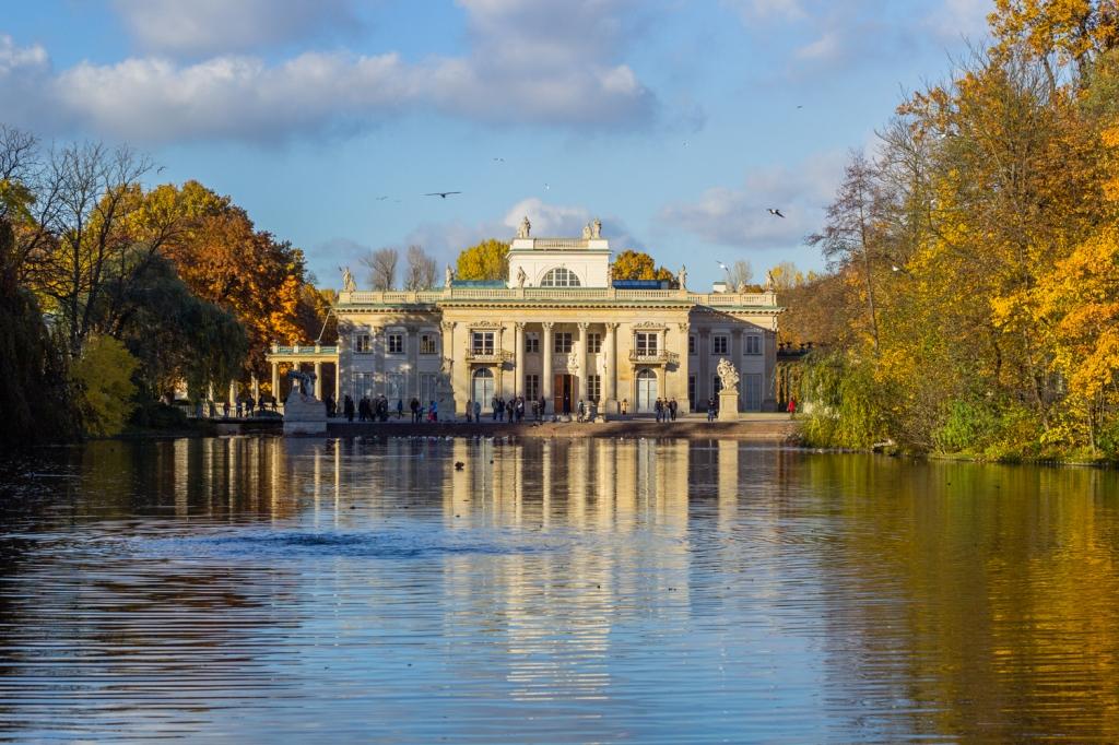 Pałac naWyspie, Łazienki Królewskie, fot.Warszawska Organizacja Turystyczna