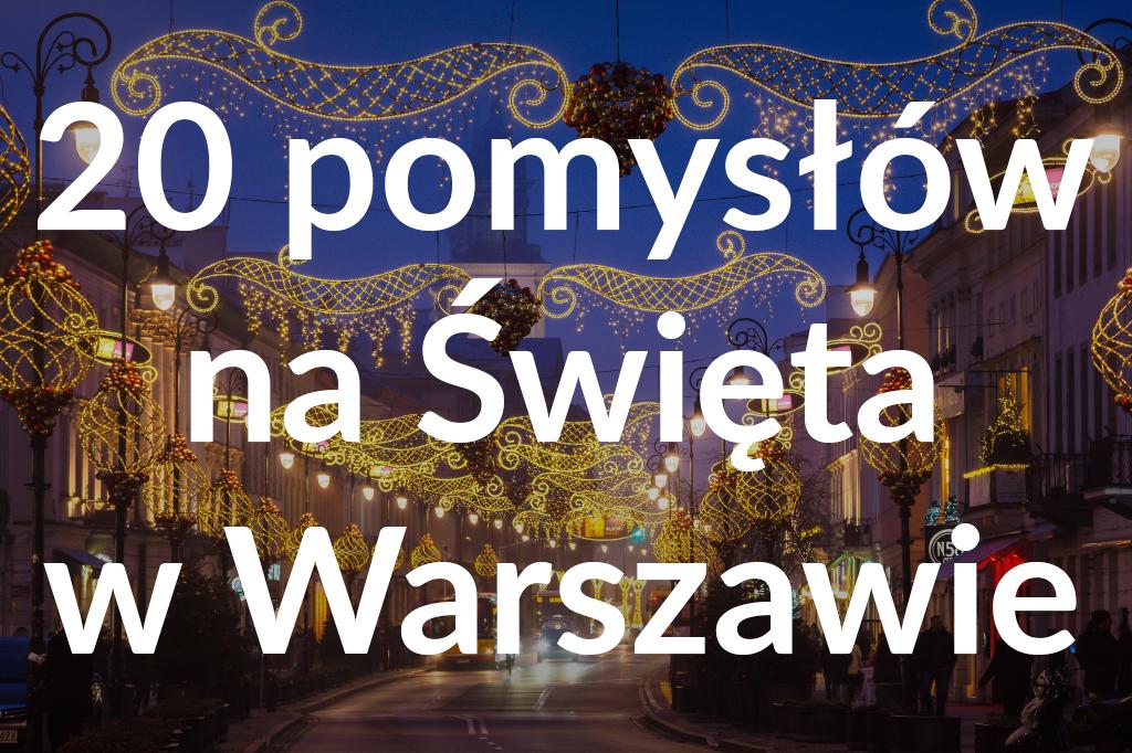 Iluminacje naNowym Świecie, fot.Warszawska Organizacja Turystyczna