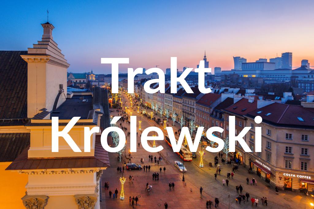 Krakowskie Przedmieście, fot.Warszawska Organizacja Turystyczna