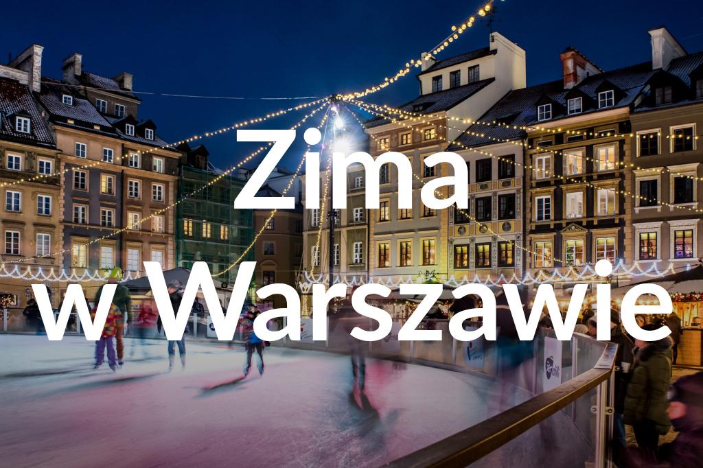 Lodowisko naRynku Starego Miasta, fot.Warszawska Organizacja Turystyczna