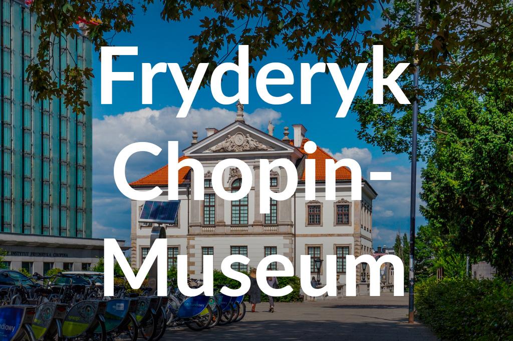 Muzeum Fryderyka Chopina, fot. Filip Kwiatkowski