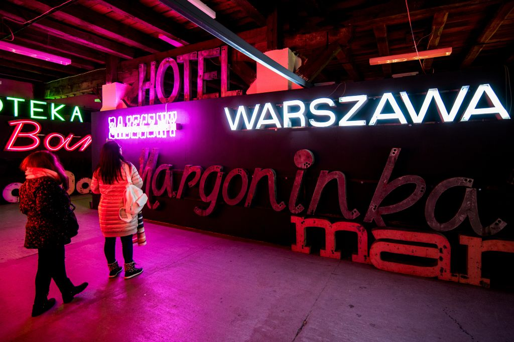Muzeum Neonów, fot. m.st. Warszawa