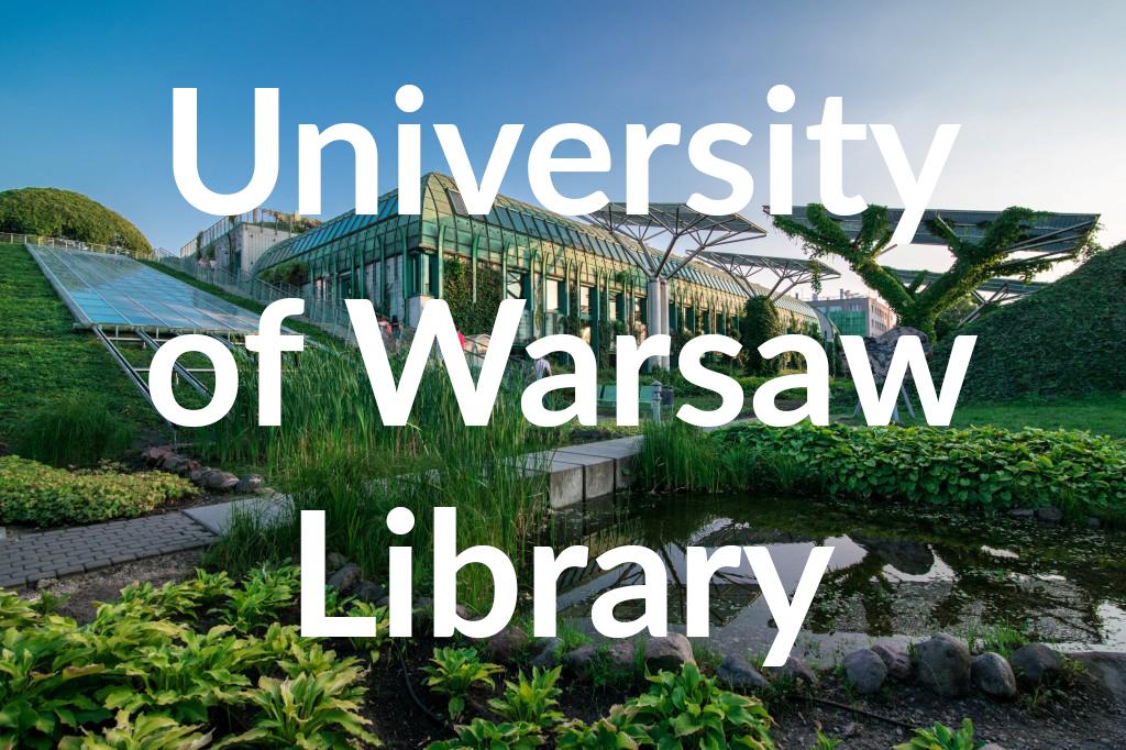 Ogród BUW, fot. Warszawska Organizacja Turystyczna