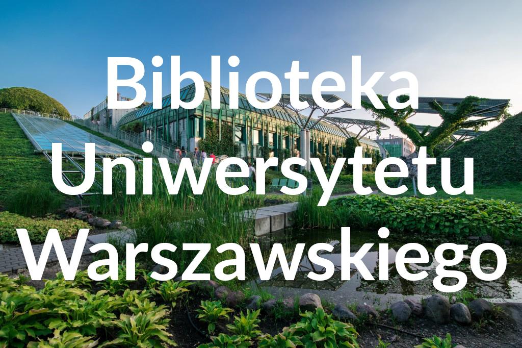 Ogród BUW, fot.Warszawska Organizacja Turystyczna