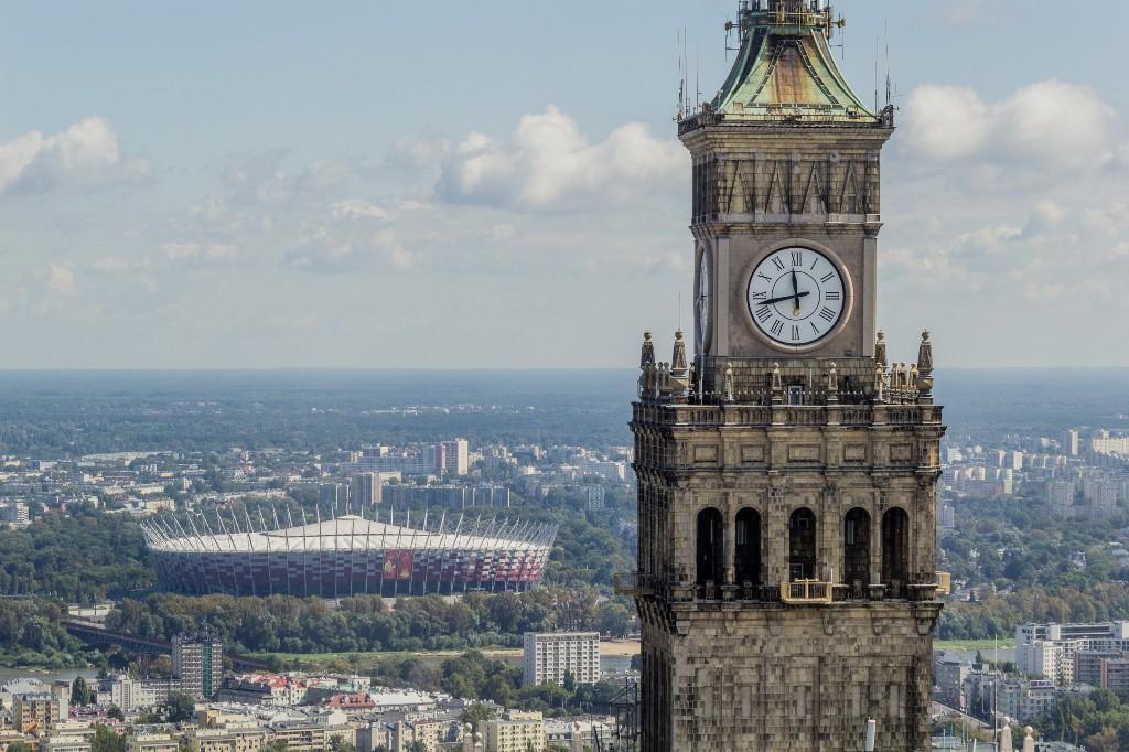 Panorama Warszawy, PKiN, fot. Warszawska Organizacja Turystyczna