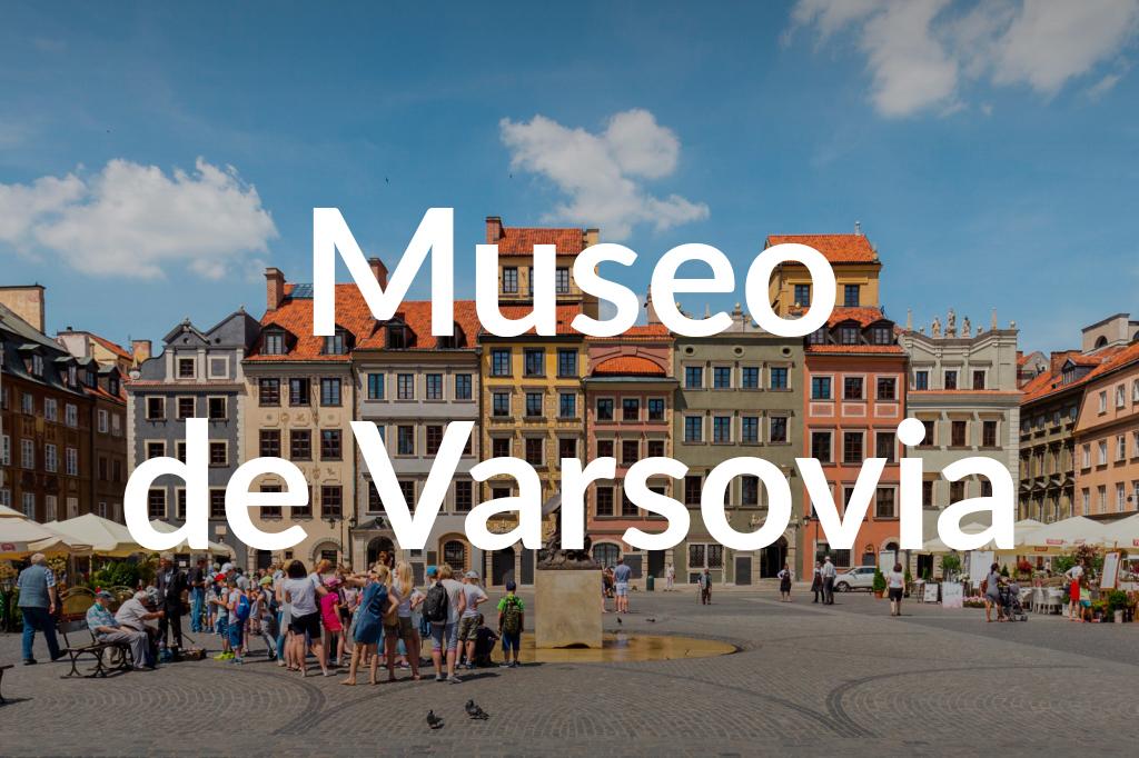 Rynek Starego Miasta, Muzeum Warszawy, fot. Filip Kwiatkowski