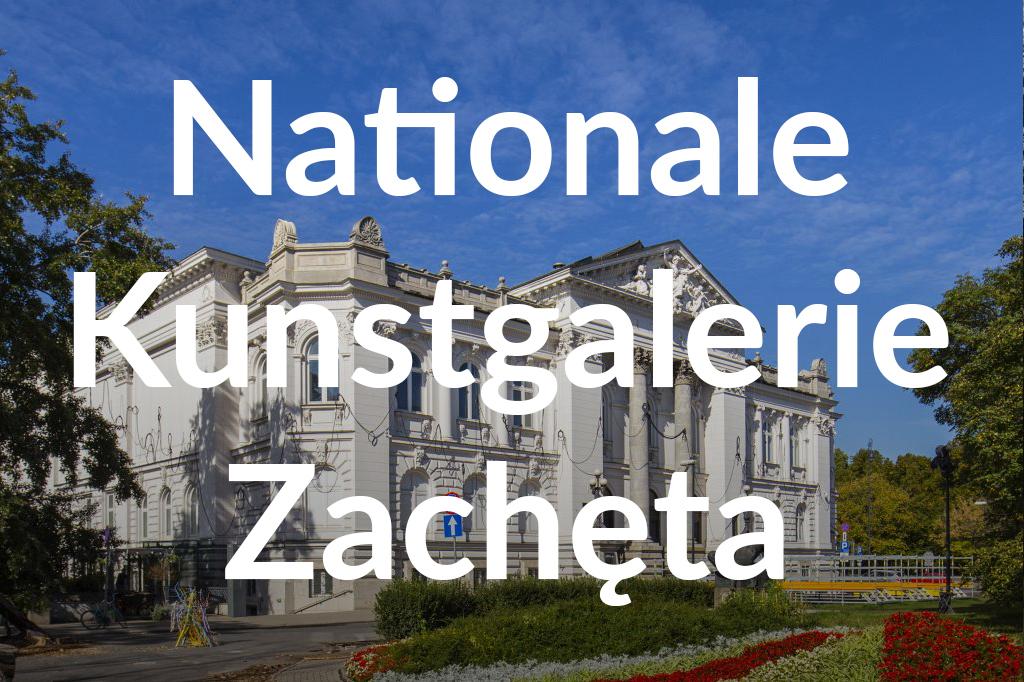 Zachęta Narodowa Galeria Sztuki, fot. Filip Kwiatkowski