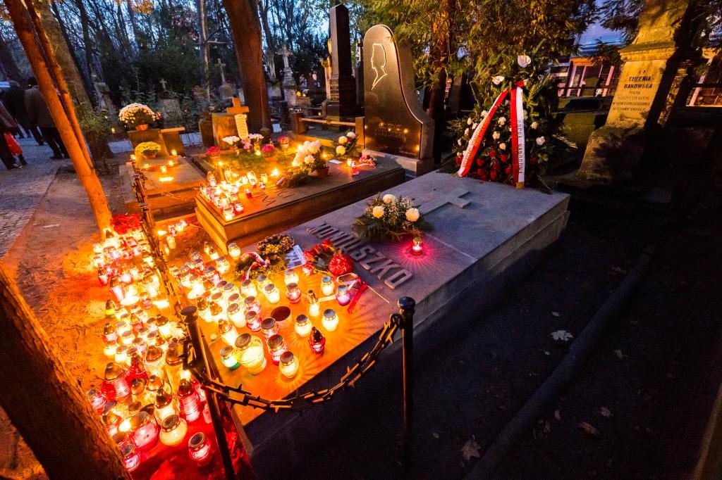Cmentarz Powązkowski, fot.Filip Kwiatkowski