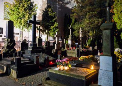 Cmentarz Powązkowski, fot. Filip Kwiatkowski